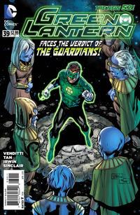 Cover Thumbnail for Green Lantern (DC, 2011 series) #39