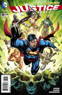 Cover Thumbnail for Justice League (DC, 2011 series) #39
