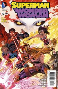 Cover Thumbnail for Superman / Wonder Woman (DC, 2013 series) #16