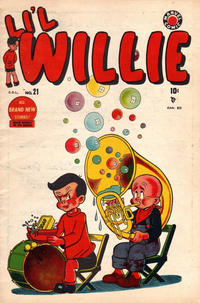 Cover Thumbnail for Li'l Willie (Bell Features, 1949 series) #21