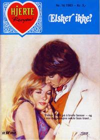 Cover Thumbnail for Hjerterevyen (Serieforlaget / Se-Bladene / Stabenfeldt, 1960 series) #16/1983