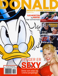 Cover for Donald - Andebys ledende manneblad (Hjemmet / Egmont, 2010 series) #2011