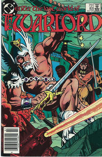 Cover for Warlord (DC, 1976 series) #83 [direct-sales]