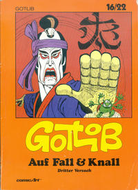 Cover Thumbnail for 16/22 (Carlsen Comics [DE], 1983 series) #13 - Auf Fall & Knall [3]