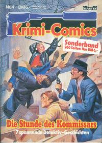 Cover Thumbnail for Krimi-Comics (Bastei Verlag, 1988 series) #4