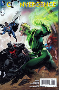 Cover Thumbnail for Convergence (DC, 2015 series) #1 [Ivan Reis Cover Variant]