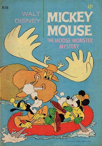 Cover Thumbnail for Walt Disney's Mickey Mouse (W. G. Publications; Wogan Publications, 1956 series) #159
