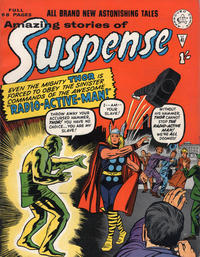 Cover Thumbnail for Amazing Stories of Suspense (Alan Class, 1963 series) #41