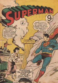Cover Thumbnail for Superman (K. G. Murray, 1947 series) #100