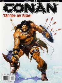 Cover Thumbnail for Conan album (Bladkompaniet / Schibsted, 1992 series) #55 - Tårnet av blod!