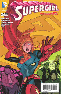 Cover Thumbnail for Supergirl (DC, 2011 series) #40 [Direct Sales]