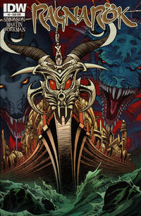 Cover for Ragnarök (IDW, 2014 series) #4 [Subscription Cover]