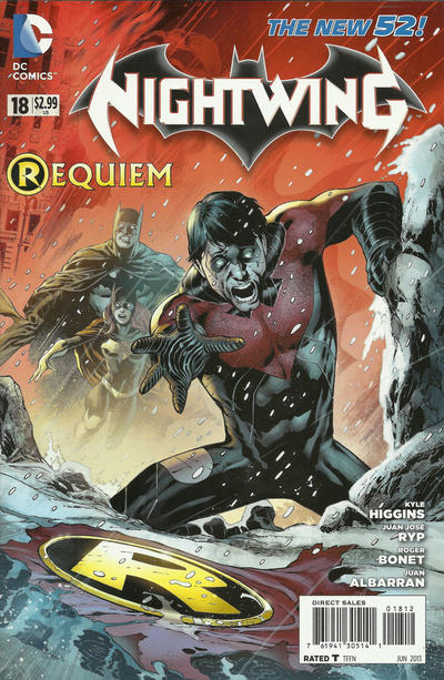 Cover for Nightwing (DC, 2011 series) #18