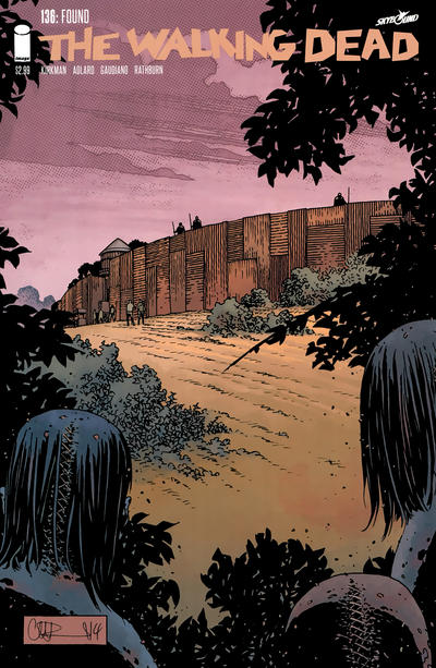 Cover for The Walking Dead (Image, 2003 series) #136