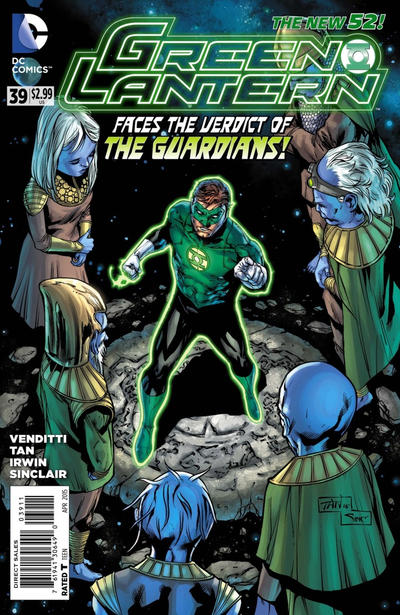 Cover for Green Lantern (DC, 2011 series) #39