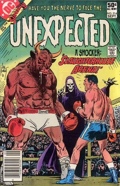 Cover for The Unexpected (DC, 1968 series) #214 [Direct]