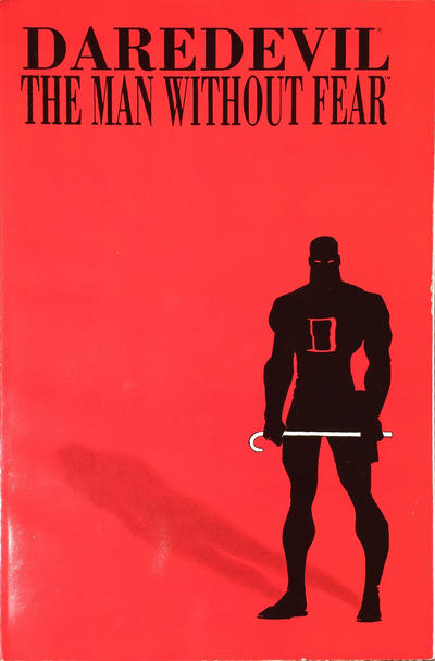Cover for Daredevil: The Man without Fear (Marvel, 1994 series)