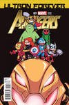 Cover Thumbnail for Avengers: Ultron Forever (2015 series) #1 [Skottie Young Marvel Babies variant]