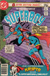 Cover for The New Adventures of Superboy (DC, 1980 series) #10 [British]