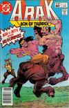 Cover for Arak / Son of Thunder (DC, 1981 series) #10 [Newsstand]