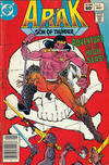 Cover for Arak / Son of Thunder (DC, 1981 series) #9 [Newsstand]