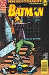 Cover for Batman (DC, 1940 series) #505 [Newsstand]