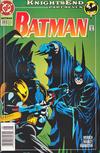 Cover for Batman (DC, 1940 series) #510 [Newsstand]