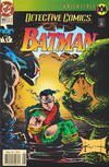 Cover Thumbnail for Detective Comics (1937 series) #660 [Newsstand Edition]