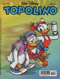 Cover for Topolino (The Walt Disney Company Italia, 1988 series) #2170