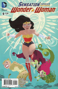 Cover Thumbnail for Sensation Comics Featuring Wonder Woman (DC, 2014 series) #9