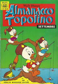Cover Thumbnail for Almanacco Topolino (Arnoldo Mondadori Editore, 1957 series) #201