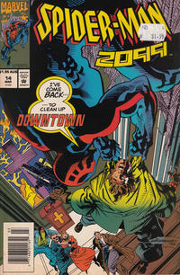 Cover Thumbnail for Spider-Man 2099 (Marvel, 1992 series) #14 [Australian]