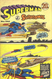 Cover Thumbnail for Superman Supacomic (K. G. Murray, 1959 series) #152
