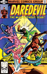Cover Thumbnail for Daredevil (Marvel, 1964 series) #165 [Direct Edition]
