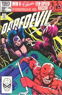 Cover Thumbnail for Daredevil (Marvel, 1964 series) #176 [British Price Variant]