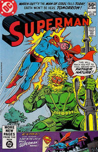 Cover for Superman (DC, 1939 series) #358 [Direct]