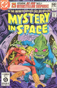 Cover Thumbnail for Mystery in Space (DC, 1951 series) #112 [Direct]