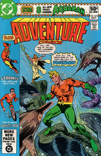 Cover Thumbnail for Adventure Comics (DC, 1938 series) #476 [Direct]