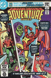 Cover Thumbnail for Adventure Comics (DC, 1938 series) #477 [Direct Sales Variant]