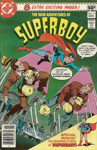 Cover Thumbnail for The New Adventures of Superboy (DC, 1980 series) #11 [Newsstand]