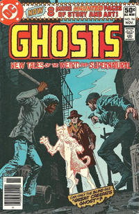 Cover Thumbnail for Ghosts (DC, 1971 series) #94 [Newsstand]