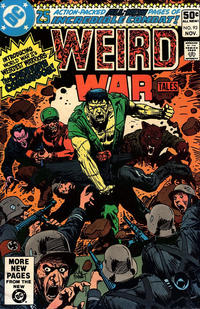 Cover Thumbnail for Weird War Tales (DC, 1971 series) #93 [Direct]