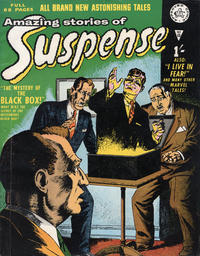 Cover Thumbnail for Amazing Stories of Suspense (Alan Class, 1963 series) #13