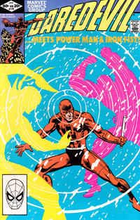 Cover for Daredevil (Marvel, 1964 series) #178 [Direct Edition]