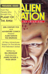 Cover Thumbnail for Alien Nation: The Spartans (Malibu, 1990 series) #1 [Regular Edition]