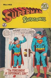 Cover Thumbnail for Superman Supacomic (K. G. Murray, 1959 series) #140