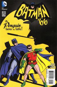 Cover Thumbnail for Batman '66 (DC, 2013 series) #22