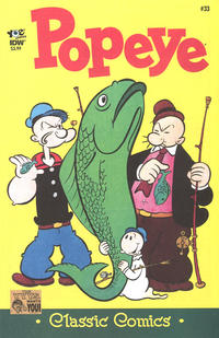 Cover Thumbnail for Classic Popeye (IDW, 2012 series) #33