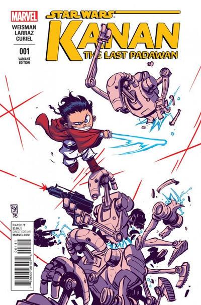 Cover for Kanan the Last Padawan (Marvel, 2015 series) #1 [Blank Cover Variant]