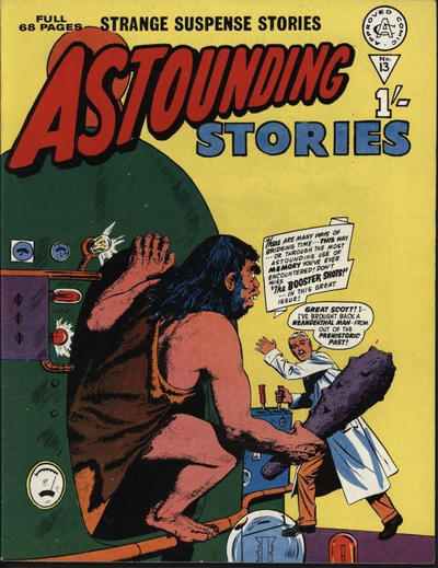 Cover for Astounding Stories (Alan Class, 1966 series) #13